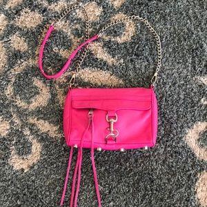 Rebecca Minkoff hot pink mini MAC
